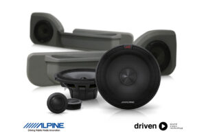 alpine R-S65C.2 speaker upgrade for 70 series cruiser