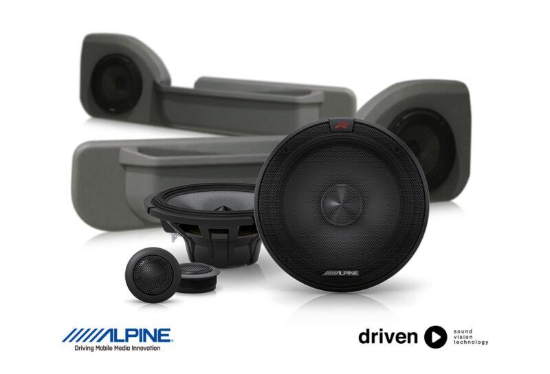 alpine R-S65C.2 speaker upgrade for 70 series cruiser