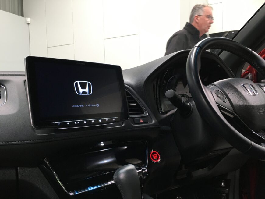 honda cdv with tablet CarPlay android auto