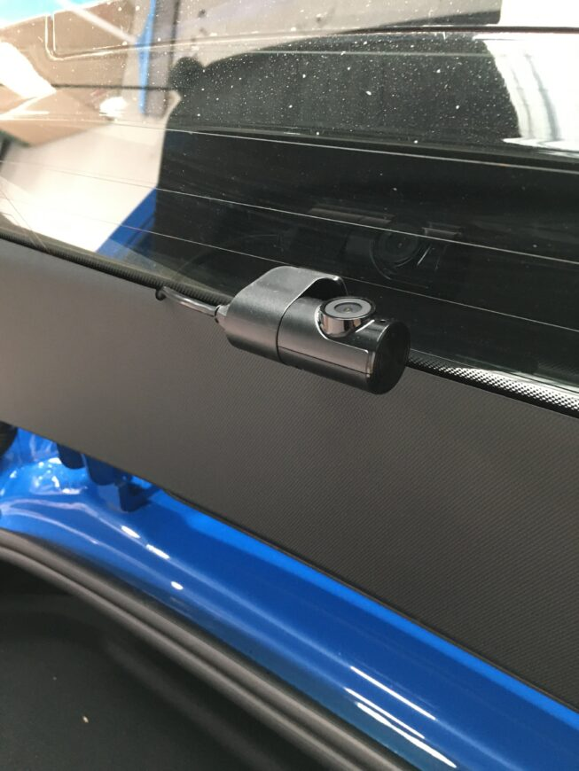 u1000 rear dashcam installation