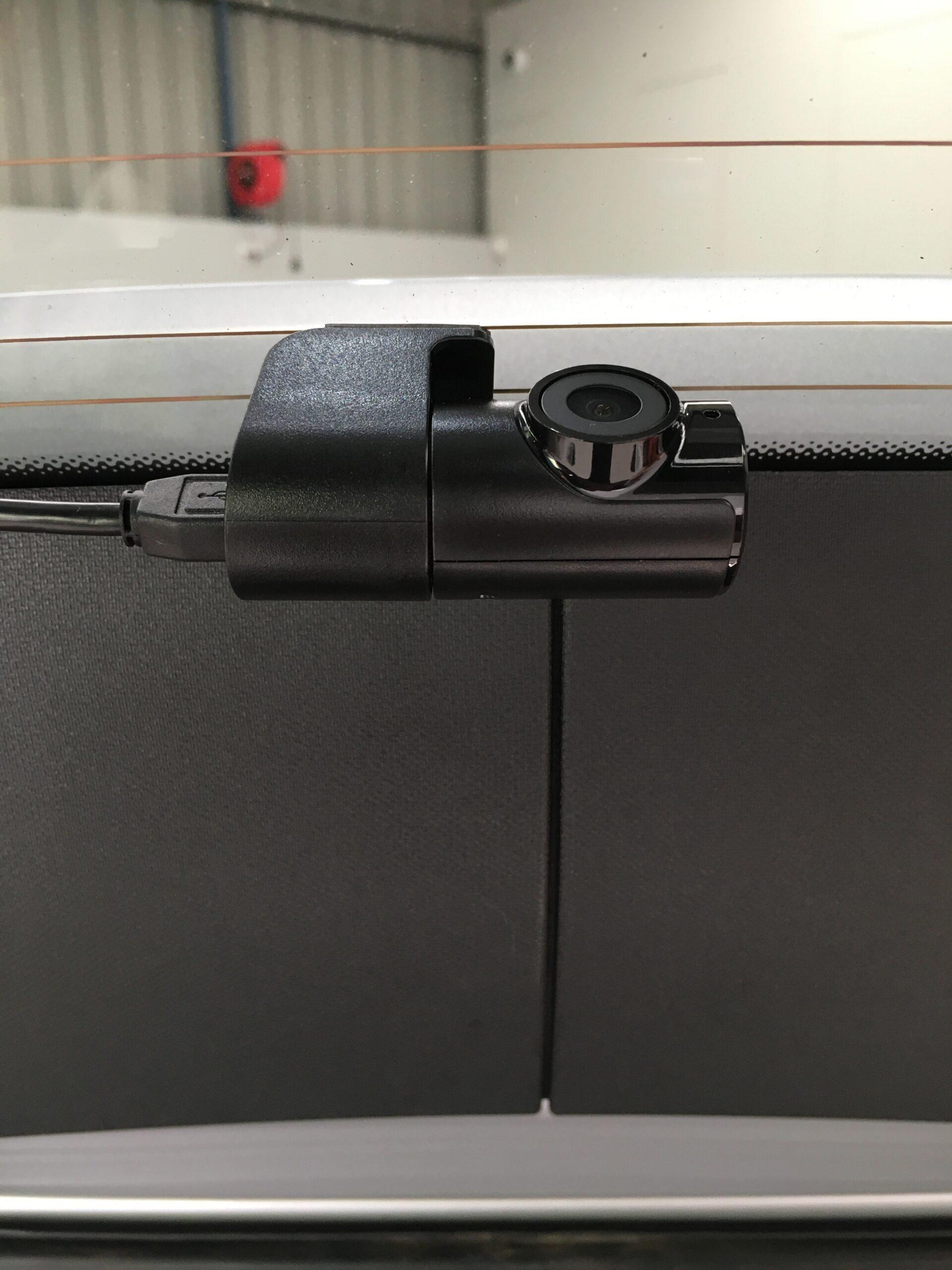 u1000 rear camera installation